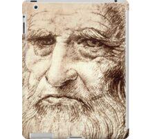 Leonardo Da Vinci Self portrait iPad Case/Skin