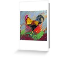 Rooster-3 Greeting Card
