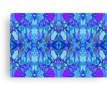Holly Does Whimsy on Thursday in Blue Canvas Print