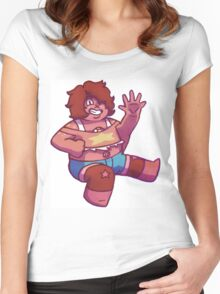 Smoky Quartz Women's Fitted Scoop T-Shirt