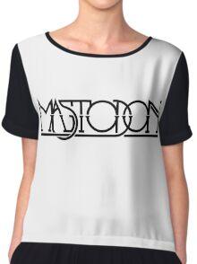 Mastodon Music Chiffon Top