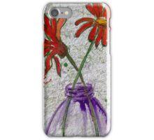 Flowers in a jar iPhone Case/Skin
