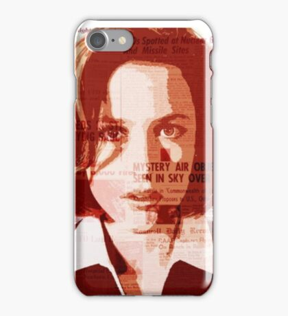 Dana Scully - The X-Files iPhone Case/Skin