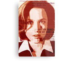 Dana Scully - The X-Files Metal Print