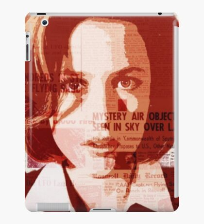 Dana Scully - The X-Files iPad Case/Skin