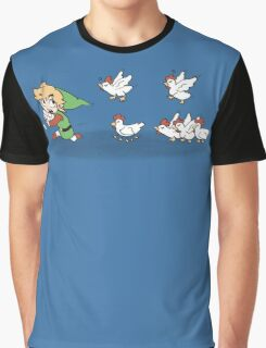 Chicken Run Graphic T-Shirt