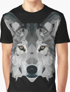 Crystalline Wolf Graphic T-Shirt