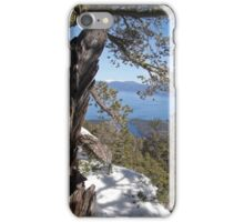 View From Maggie's Peaks iPhone Case/Skin