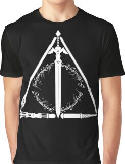 Geeky Hallows Graphic T-Shirt