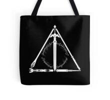 Geeky Hallows Tote Bag