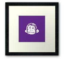 Truck Stop Bingo - Violet Framed Print