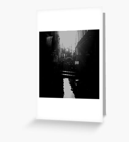 skinny bridge Greeting Card