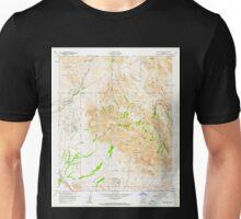 USGS TOPO Map Arizona AZ Goldfield 311506 1956 24000 Unisex T-Shirt