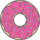 Strawberry Donut by DetourShirts
