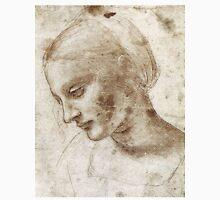 Study of a Woman by Leonardo Da Vinci Unisex T-Shirt
