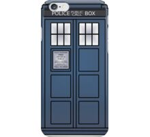 Doctor Who Tardis doors iPhone Case/Skin