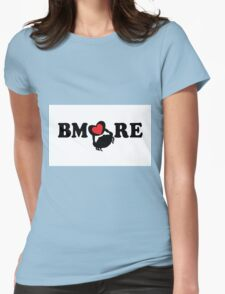 BMORE Loves Crabs Womens Fitted T-Shirt