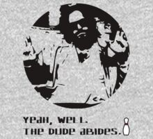 The Dude Abides. One Piece - Short Sleeve