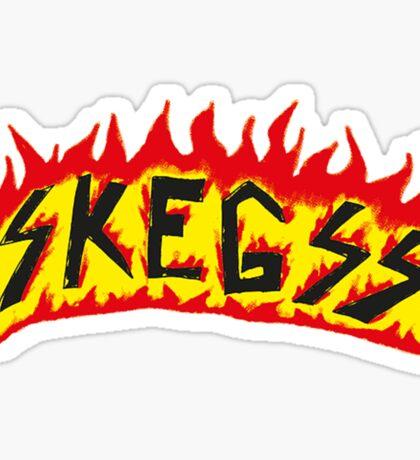 Skegss Fire Logo Sticker