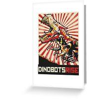Dinobots Rise! Greeting Card