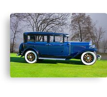 1929 Buick 29-27 Touring Sedan Canvas Print