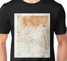 USGS TOPO Map Arizona AZ Apache Junction 310283 1956 24000 Unisex T-Shirt