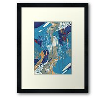 Floral Jungle 01 Framed Print