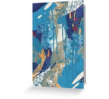 Floral Jungle 01 Greeting Card