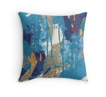 Floral Jungle 01 Throw Pillow