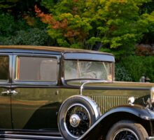 1931 Nash 887 Touring Sedan Sticker