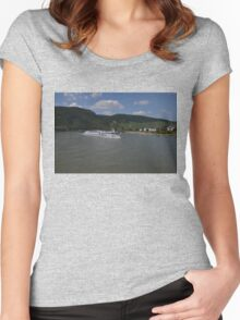 Rhine Cruise Ship Rigoletto Women's Fitted Scoop T-Shirt