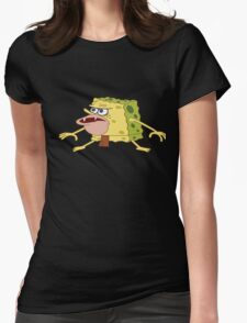 spongebob Womens Fitted T-Shirt