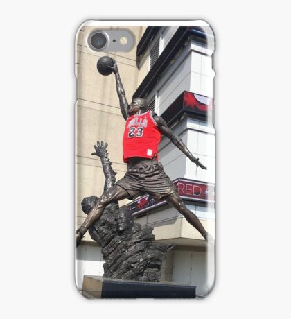 Michael Jordan Statue iPhone Case/Skin