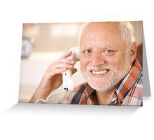 Harold calling your B Greeting Card