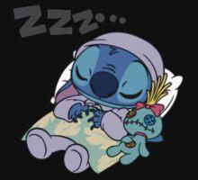 Sleeping Stitch Kids Tee