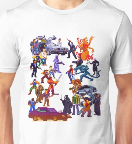 Badass 80's  Battle Unisex T-Shirt