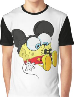 spongebob mickey Graphic T-Shirt