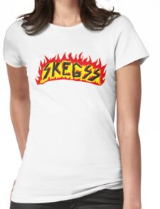 Skegss Fire Logo Womens Fitted T-Shirt