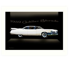 1959 Cadillac Custom Eldorado Art Print