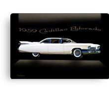 1959 Cadillac Custom Eldorado Canvas Print