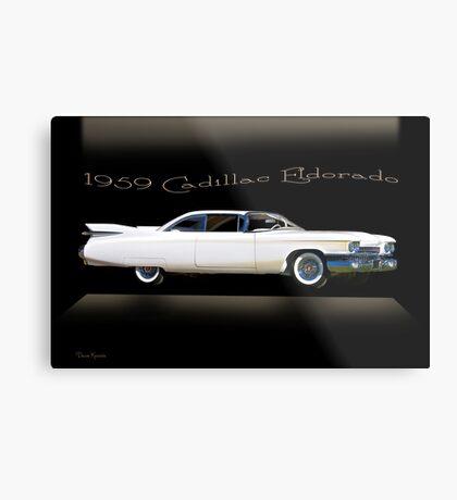 1959 Cadillac Custom Eldorado Metal Print