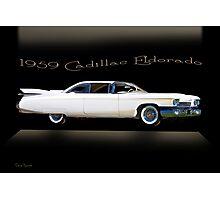 1959 Cadillac Custom Eldorado Photographic Print