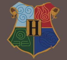 Avatar Element Hogwarts Shield Kids Clothes