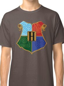 Avatar Element Hogwarts Shield Classic T-Shirt