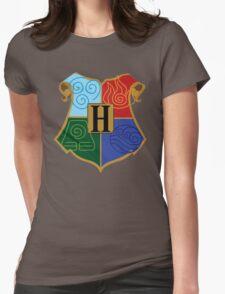 Avatar Element Hogwarts Shield Womens Fitted T-Shirt