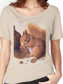 Red Squirrels by Albrecht Durer Women's Relaxed Fit T-Shirt