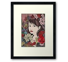 Muse in Nature 01 Framed Print