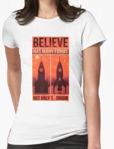 DIN.GIR. Womens Fitted T-Shirt