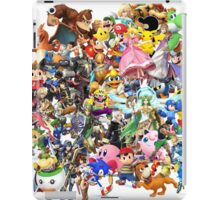 Super Smash Bros characters iPad Case/Skin