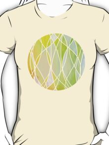 Lemon & Lime Love - abstract painting in yellow & green T-Shirt